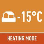 heating mode