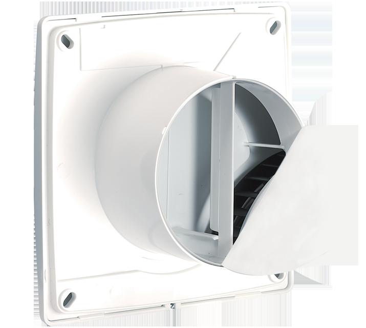 nepovratna klapna ventilator ACS ventilacija